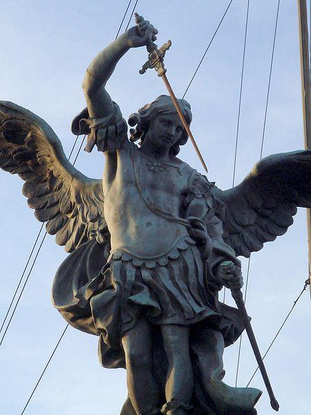 450px-6212_-_Roma_-_Castel_Sant'Angelo_-_San_Michele_(1753)_-_Foto_Giovanni_Dall'Orto,_30-Mar-2008